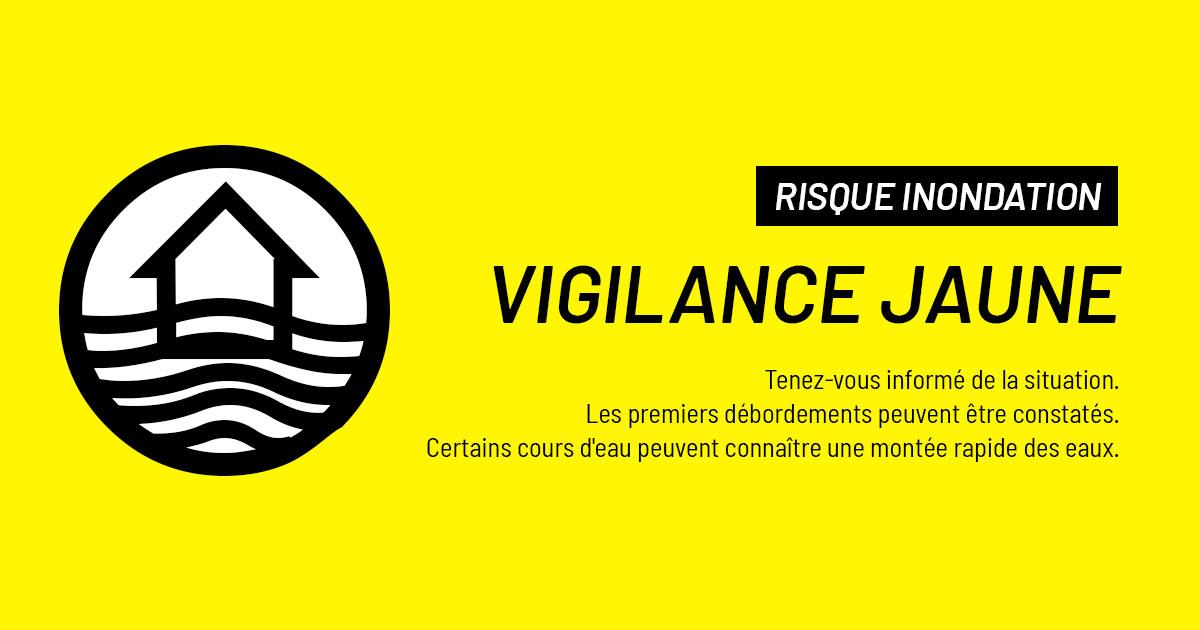 inondations - vigilance jaune