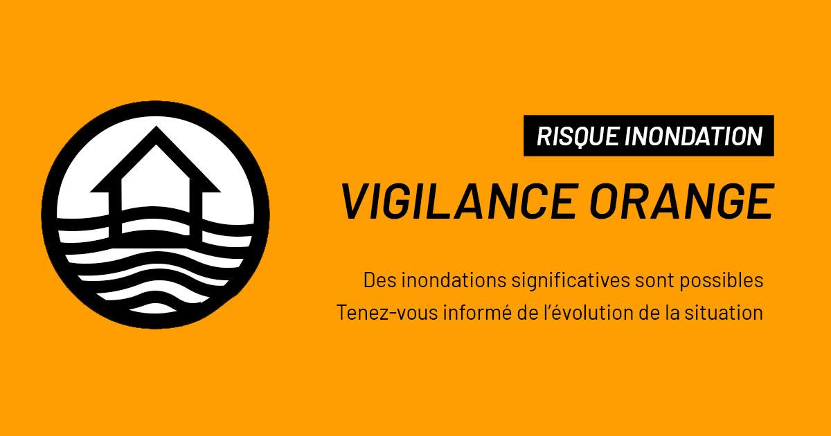 inondations - vigilance orange